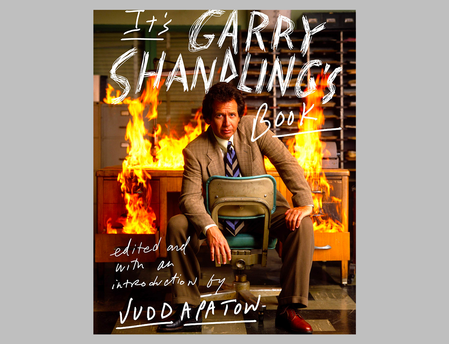 It's Garry Shandling's Book at werd.com