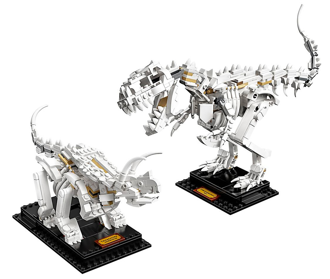 LEGO's Dinosaur Fossil Set Lets You Build with Bones at werd.com