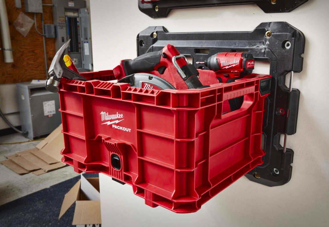 Milwaukee's PACKOUT Crate is a Commercial-Grade Gear Hauler at werd.com