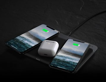 Nomad's Base Station Pro Delivers 3-Way Wireless Charging