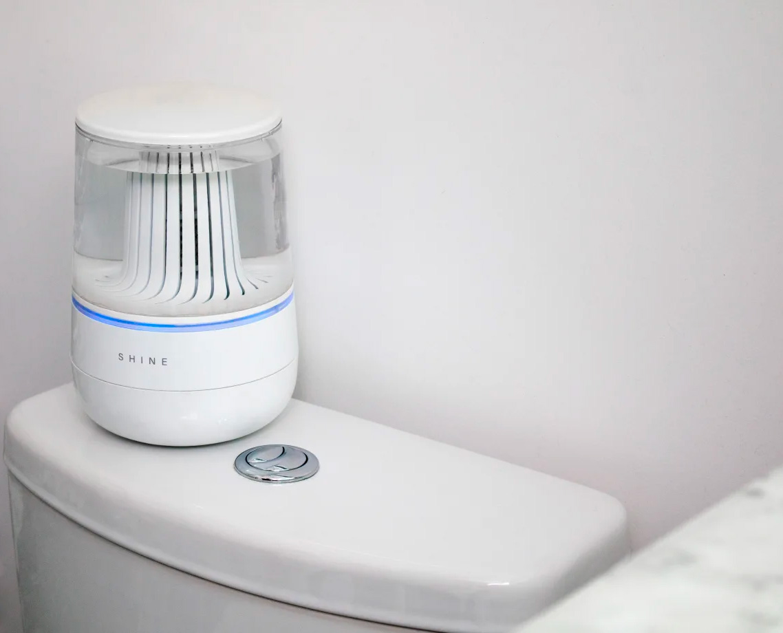Never Clean the Toilet Again with Shine's Bathroom Assistant at werd.com