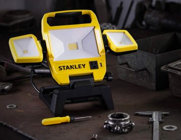 Light It Up with Stanley's 5000-Lumen Work Light