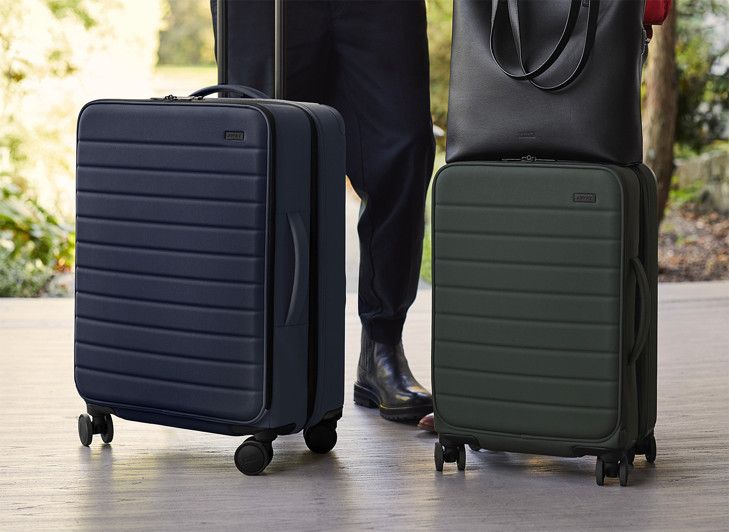 AWAY Rolls Out Expandables Luggage Collection at werd.com