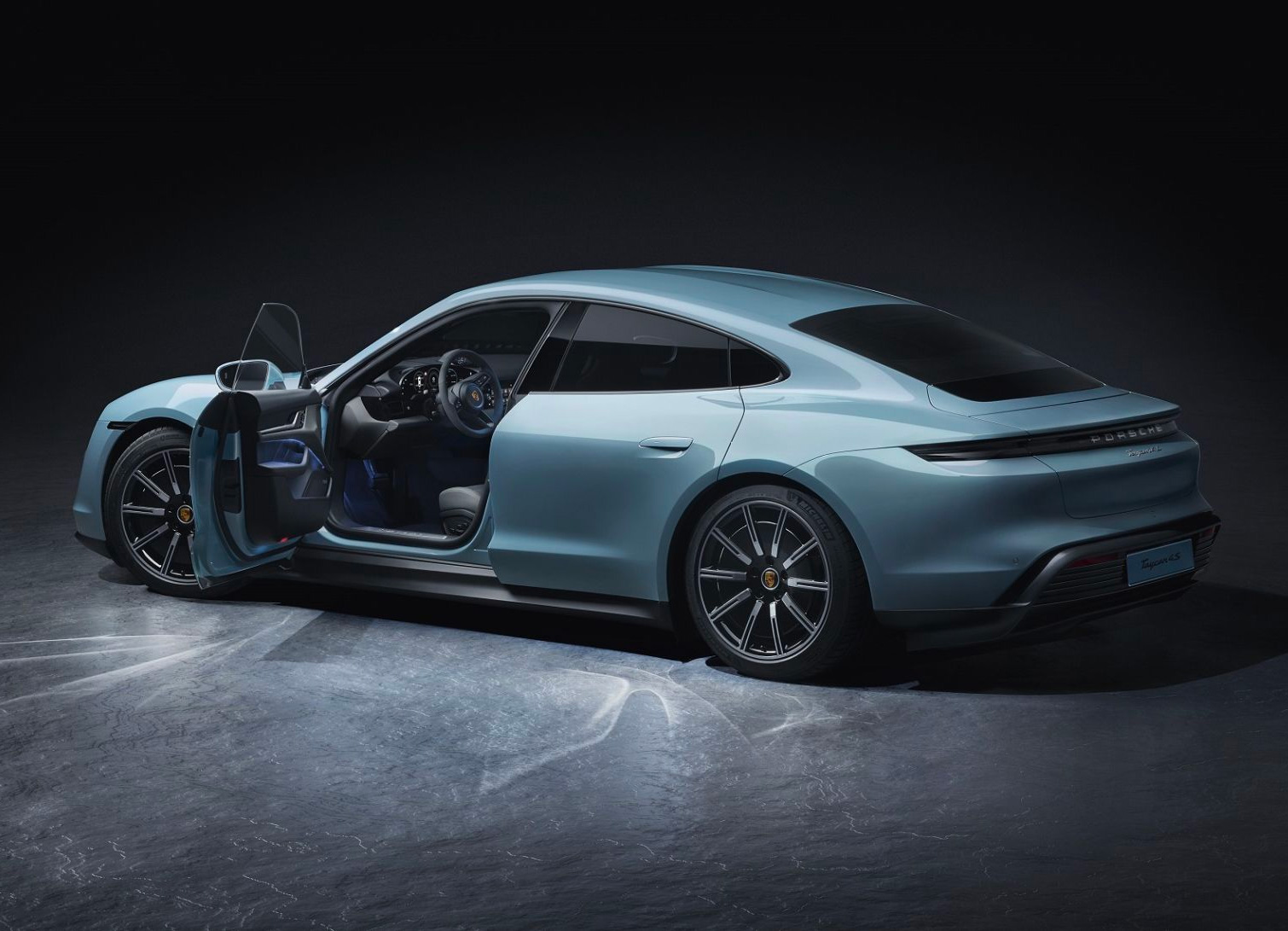 Porsche Reveals A Cheaper All-Electric: The Taycan 4S at werd.com