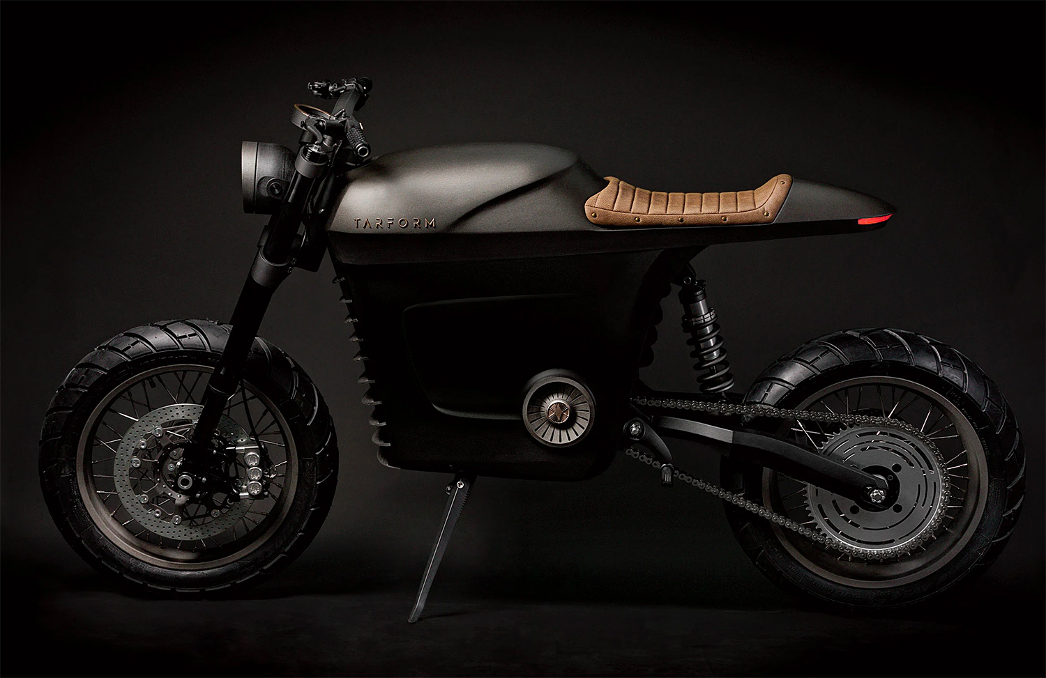 Tarform Electric Motorcycles Wheelie Toward 100% Green Mobility at werd.com