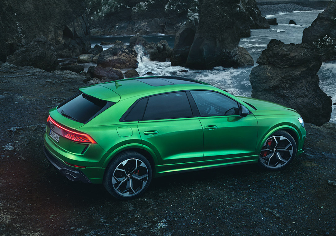Audi Rolls Out 2020 RS Q8 at werd.com
