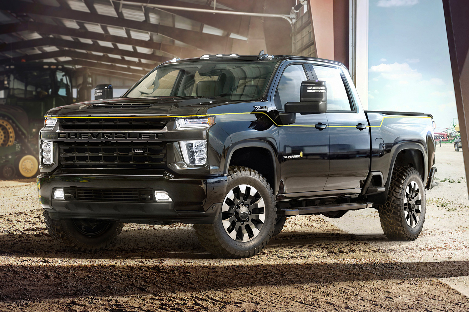 Carhartt & Chevy Team Up On Special Edition 2021 Silverado at werd.com