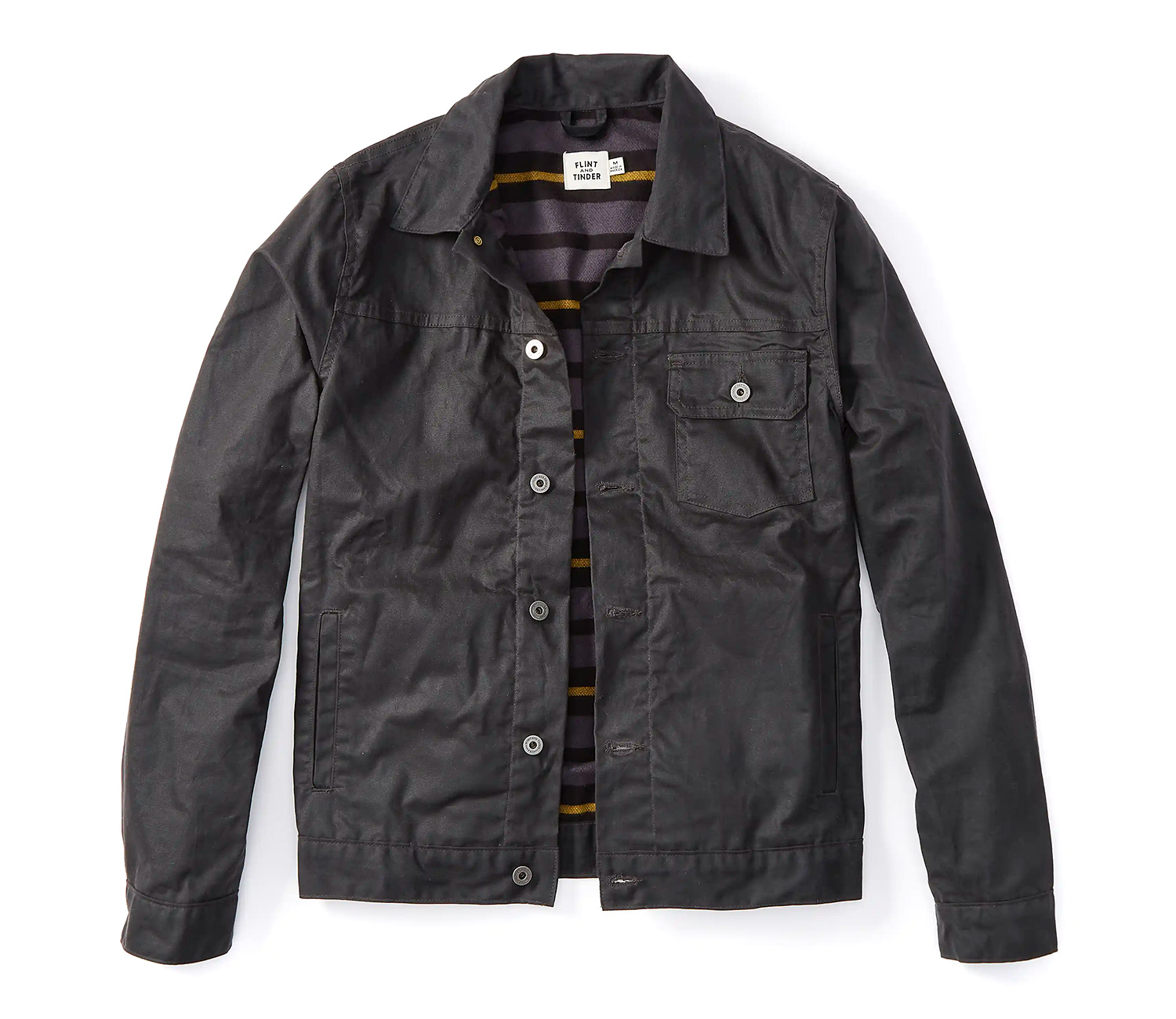 This Jean Jacket is Waxed for Winter at werd.com