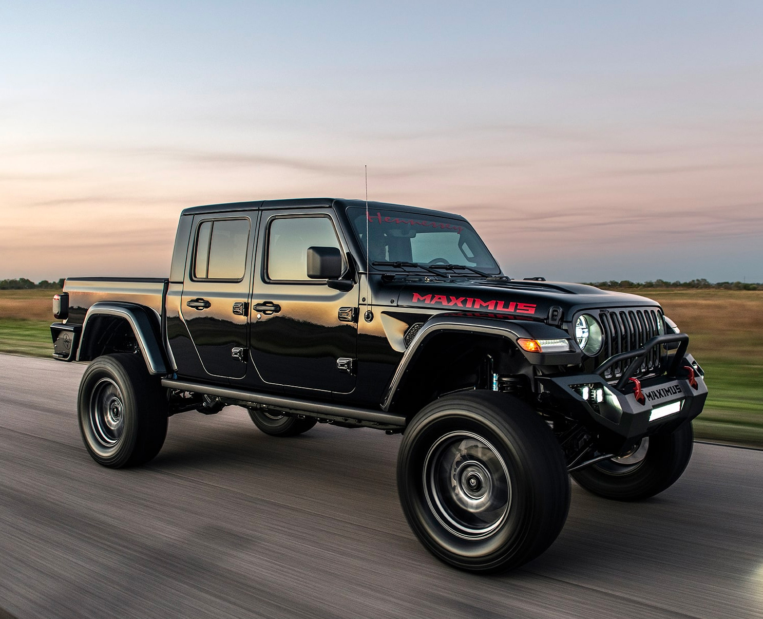 Hennessey's Latest Jeep is a 1000-Horse Gladiator at werd.com