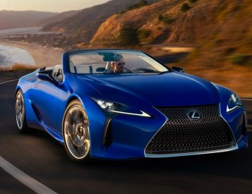 Lexus' LC500 Goes Topless in 2021