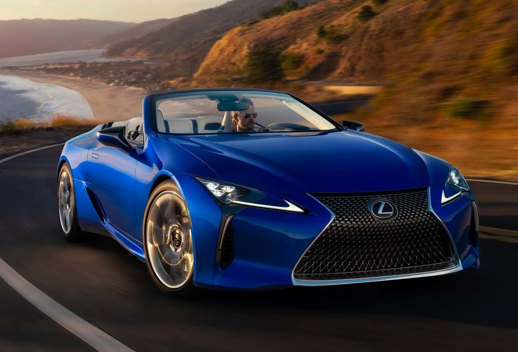 Lexus' LC500 Goes Topless in 2021 at werd.com