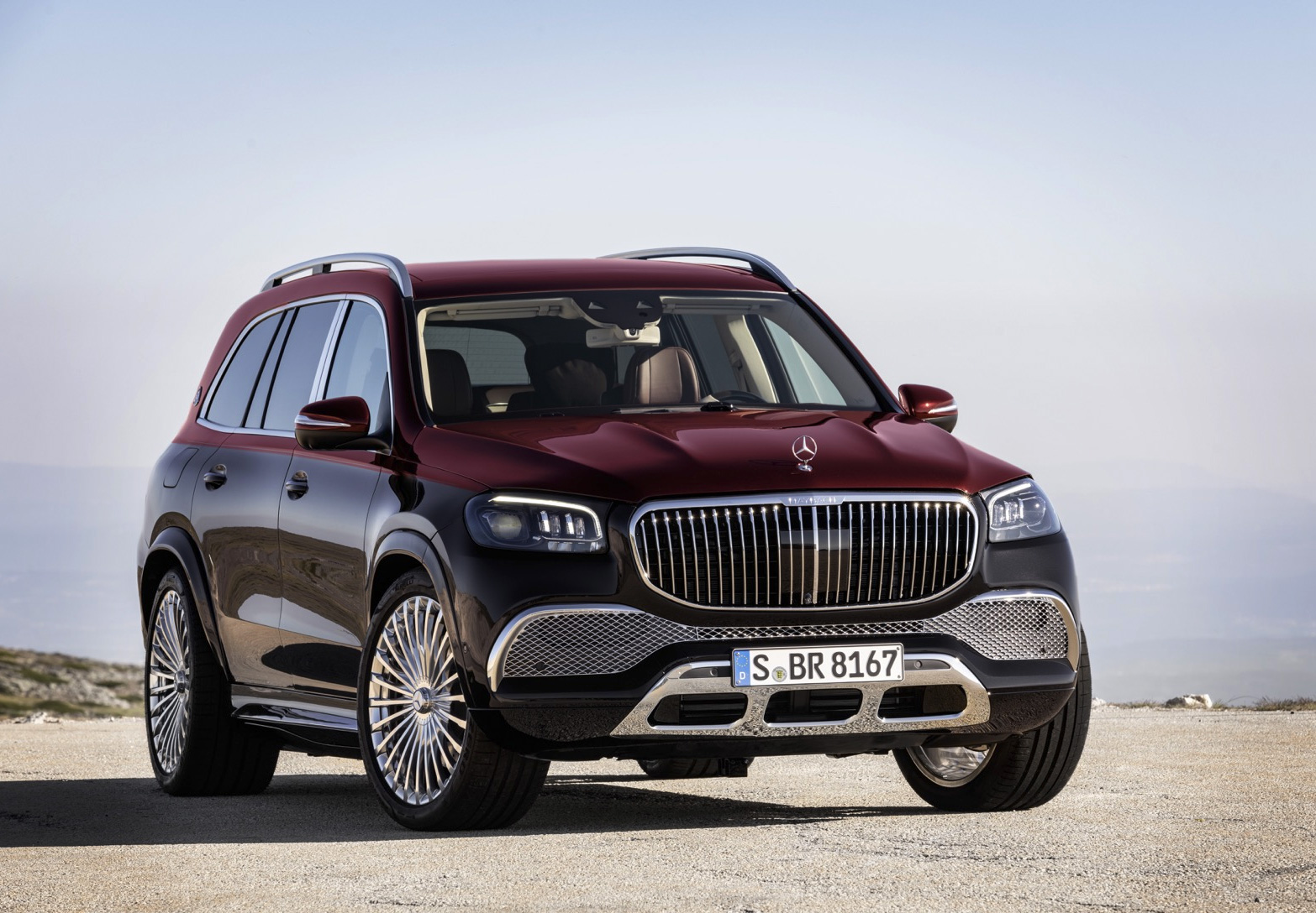 Mercedes-Maybach Unveils GLS 600 SUV at werd.com