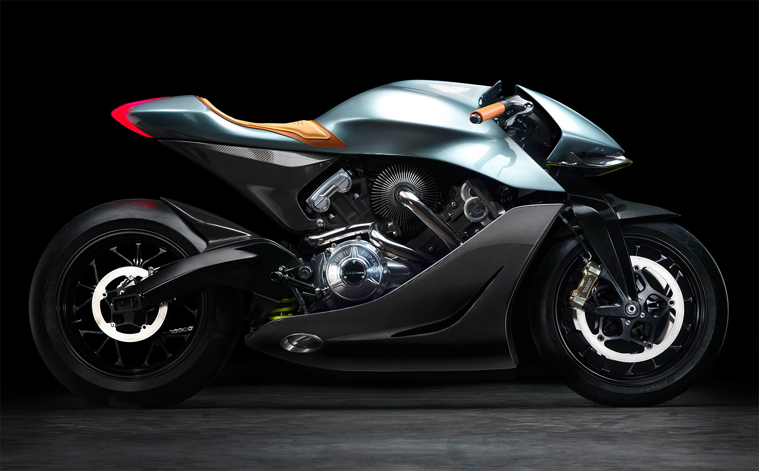 Yes, An Aston Martin Motorcycle at werd.com