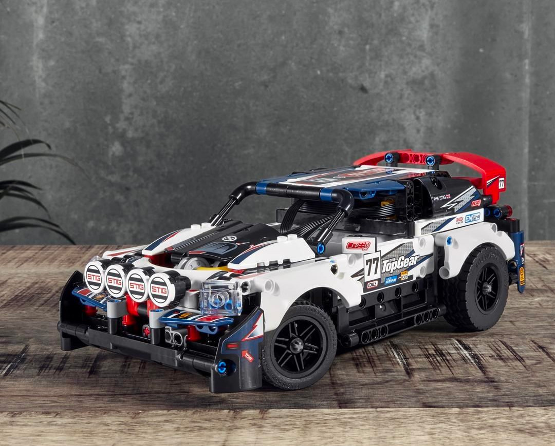 LEGO & Top Gear Team Up on Remote Control Rally Car at werd.com