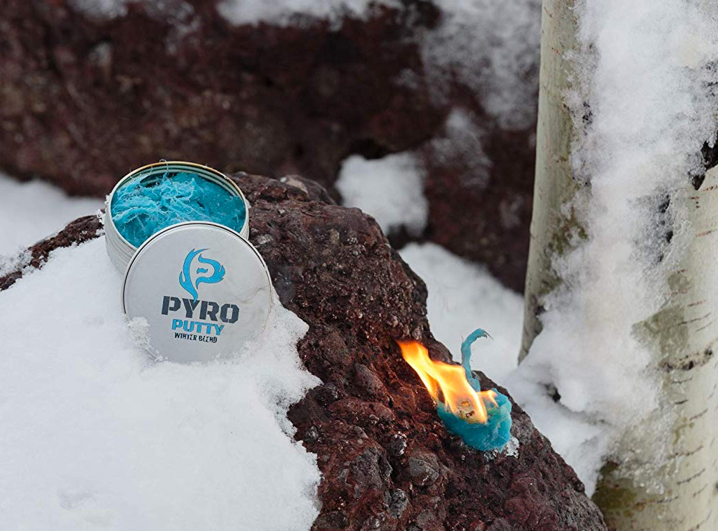Pyro Putty Emergency Firestarter Blazes In Bad Weather at werd.com