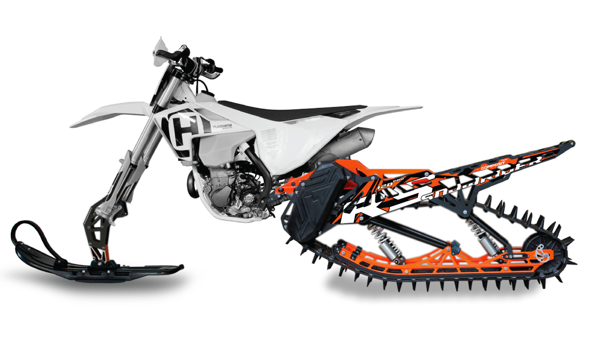 This Kit Turns Your Motocross Bike into a Snow-Mo at werd.com