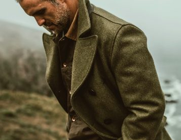 This Limited Edition Peacoat Delivers Heavy-Duty Warmth