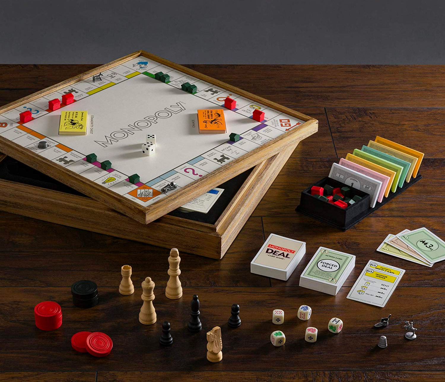 Give the Gift of Vintage Monopoly Plus 4 More at werd.com