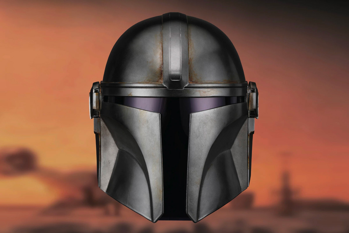 Get Your Head Inside an Officially Licensed <i>Mandalorian</i> Helmet at werd.com