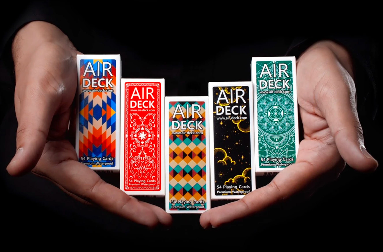 AirDeck 3.0 Playing Cards: The Same But Better at werd.com