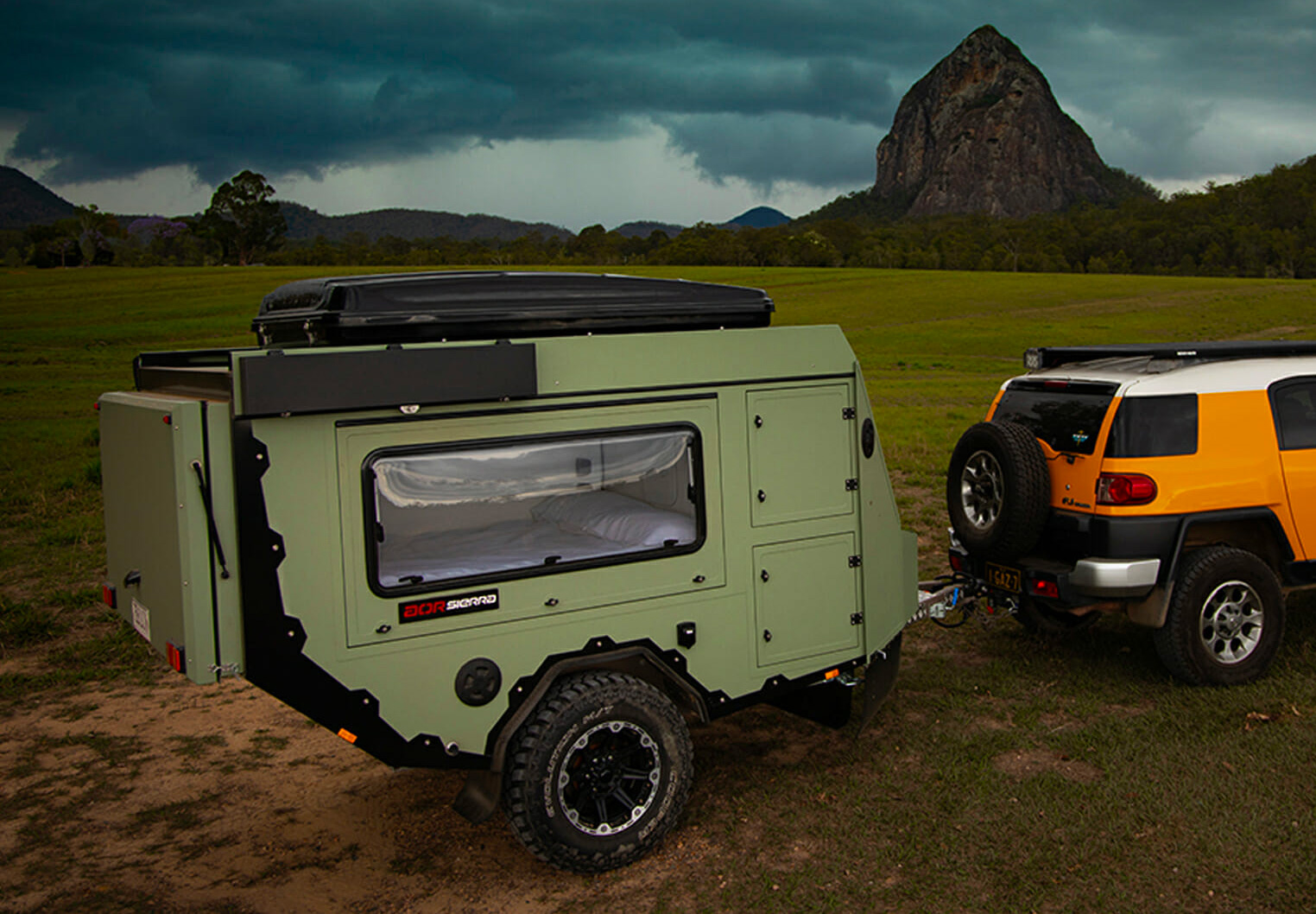 Australian Off-Road Introduces Compact Sierra Camper at werd.com