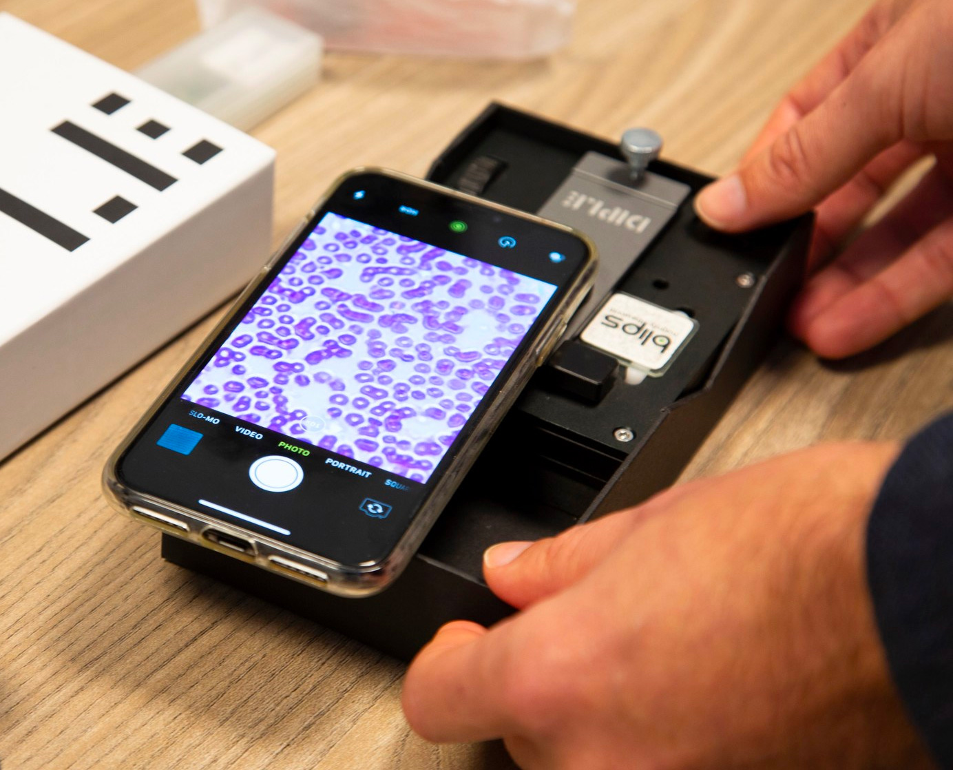 DIPLE Turns Your Smartphone or Tablet into a Powerful Microscope at werd.com